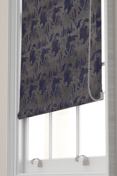Clarke & Clarke Tropicale Midnight Blind - Product code: F1305/04