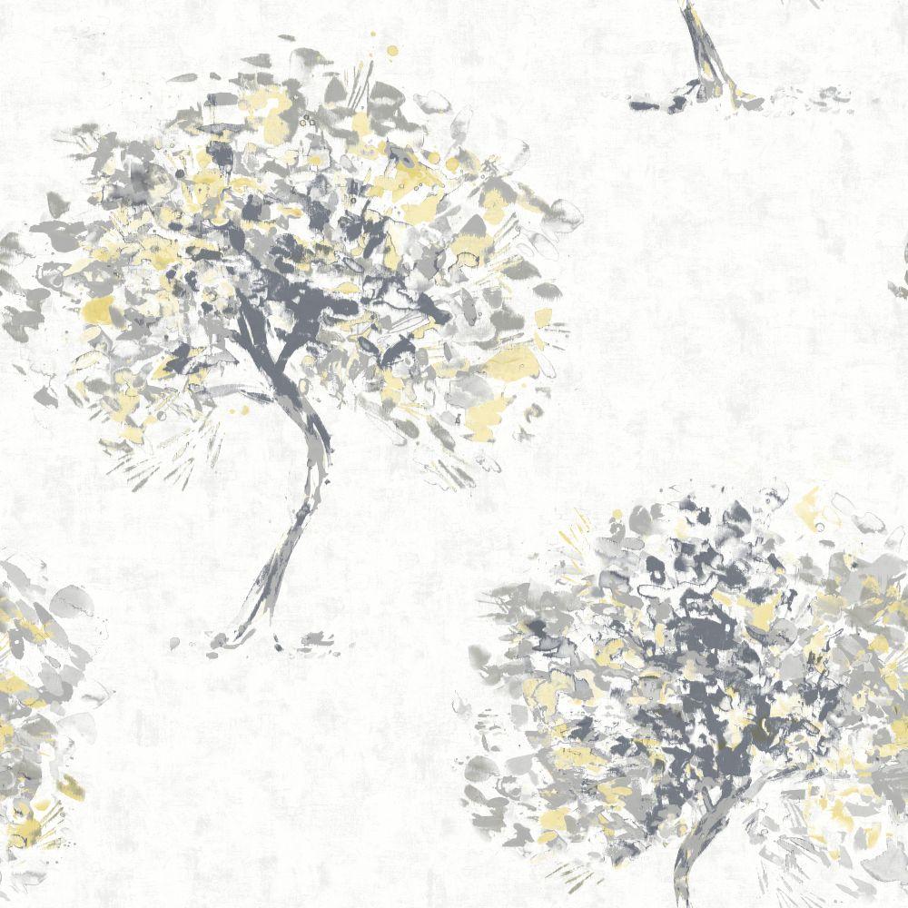 Albany Beacon Fell Yellow and Grey Wallpaper main image