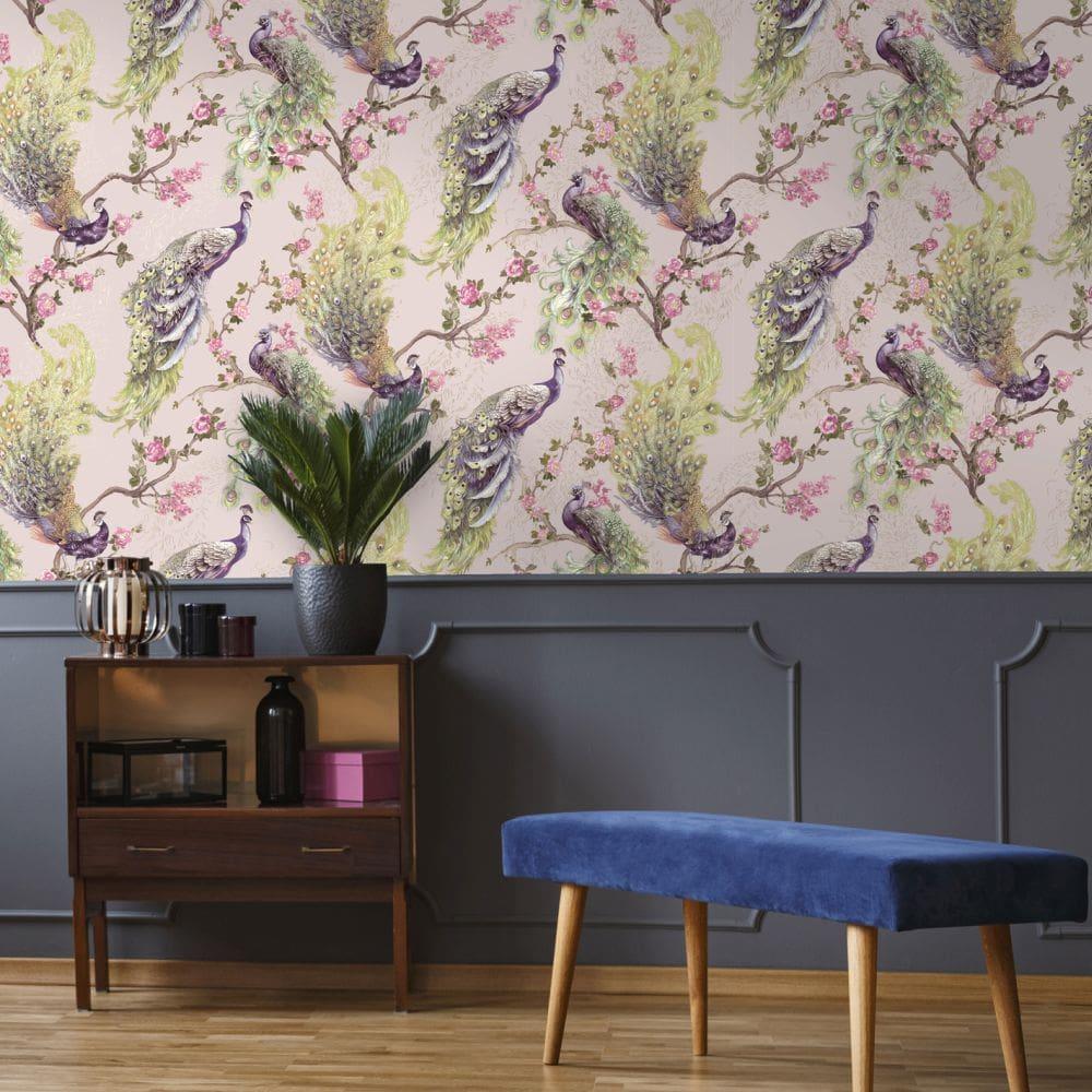 Albany Sana Pink Wallpaper - Product code: 90671