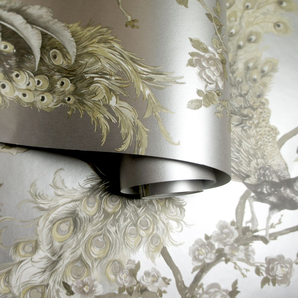 Albany Sana Metallic Silver Wallpaper - Product code: 90673