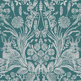 Albany Bexley Dark Green Wallpaper