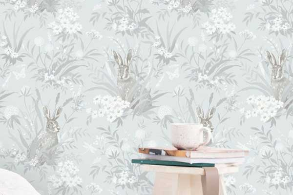 Albany Countryside Pale Blue Wallpaper - Product code: 90814