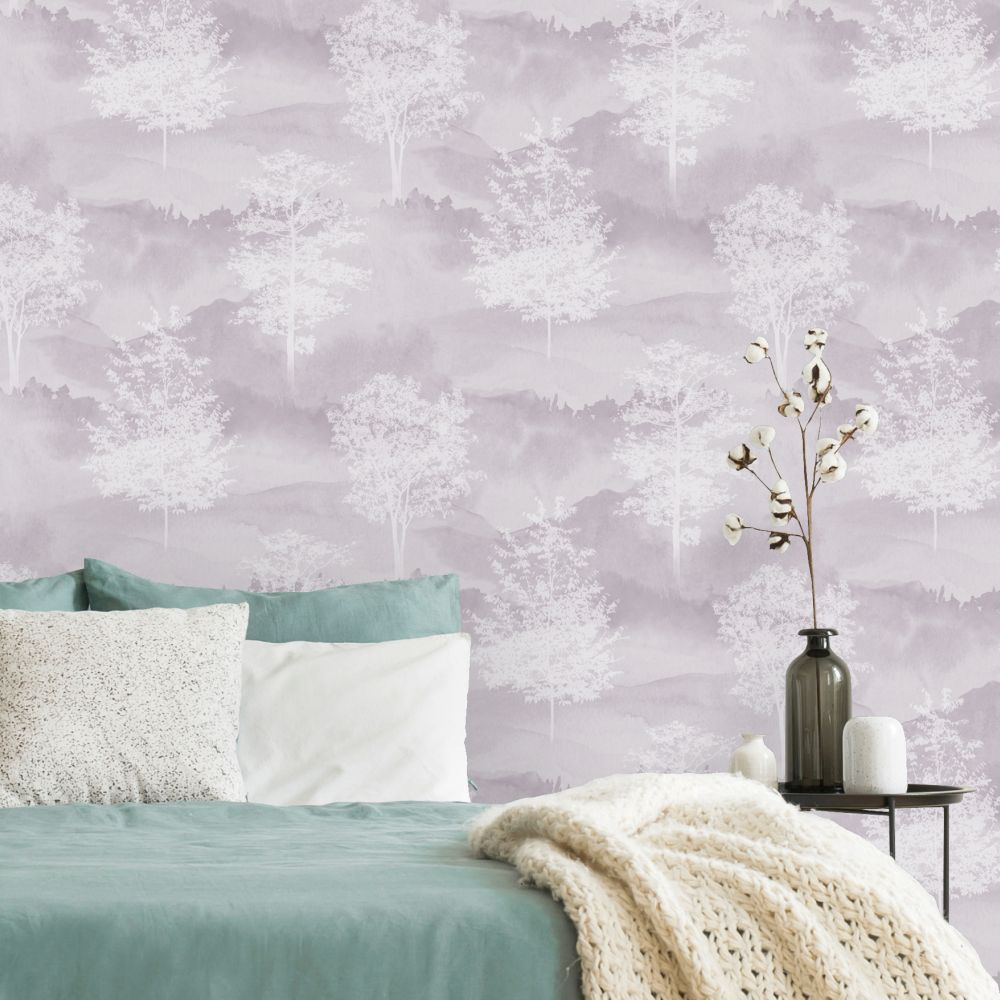 Albany Shetland Heather Wallpaper - Product code: 90822