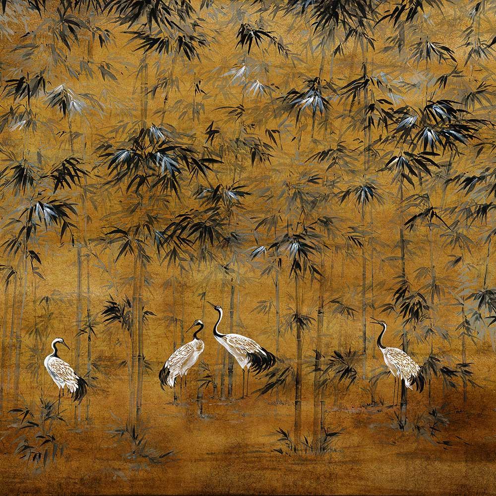 Garzas Mural - Chai - by Coordonne