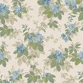 Coordonne Silene Blue Wallpaper
