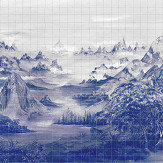 Coordonne Kami Blue Spirulina Mural - Product code: 7900023