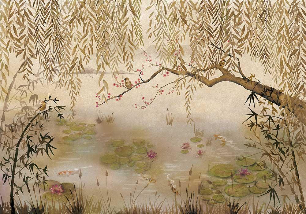 Coordonne Lotus Clow Mural - Product code: 7900041