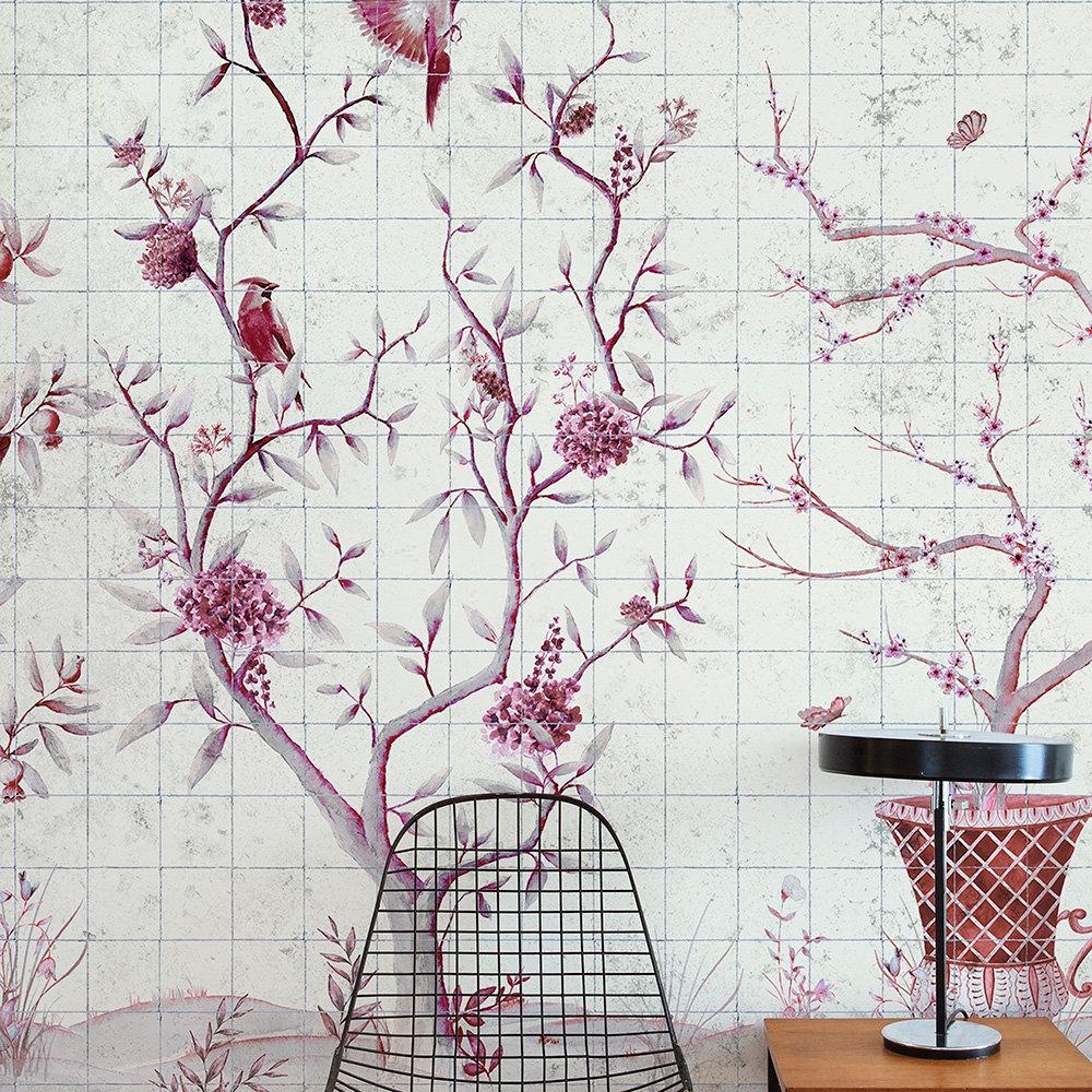 Coordonne Meihua Goji Mural - Product code: 7900051