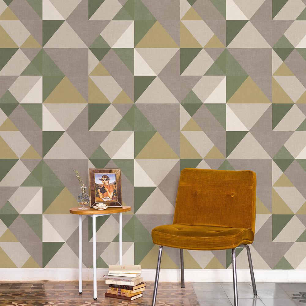 Dussel Wallpaper - Forest - by Coordonne