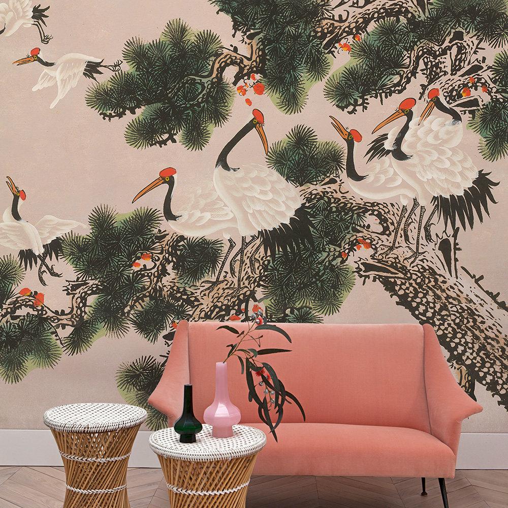 Coordonne Ukiyo Rose Mural - Product code: 7900072