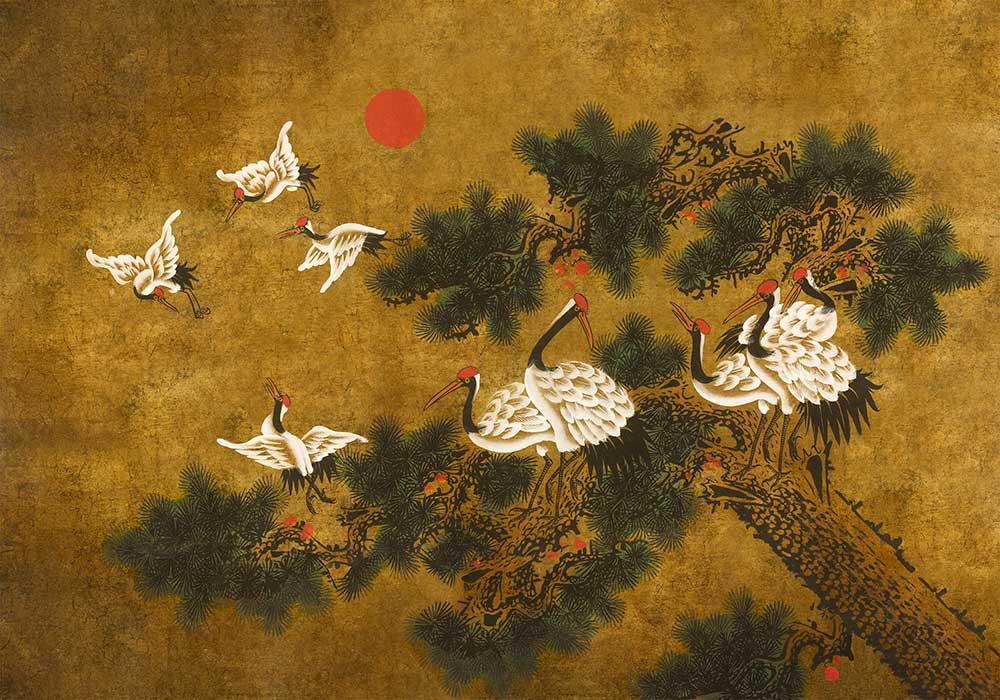 Ukiyo Mural - Chai  - by Coordonne