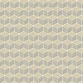 Coordonne Straw Green Wallpaper