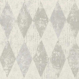 Designers Guild Arlecchino Concrete Wallpaper