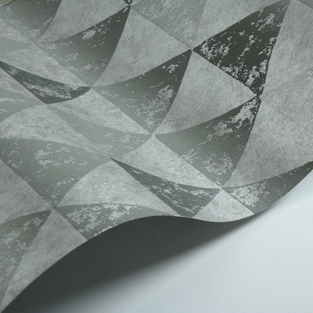 Dorsoduro Wallpaper - Silver - by Designers Guild