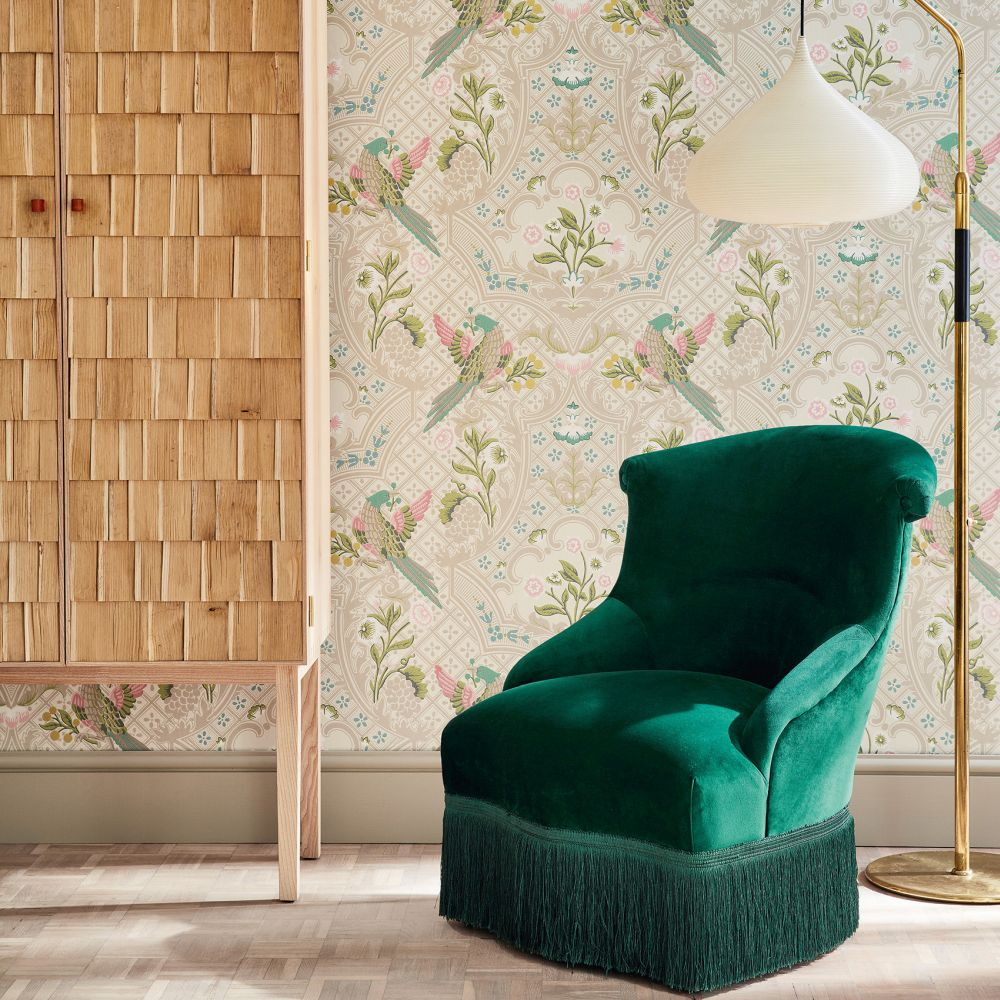 Little Greene Brodsworth Consort Wallpaper - Product code: 0256BRCONSO
