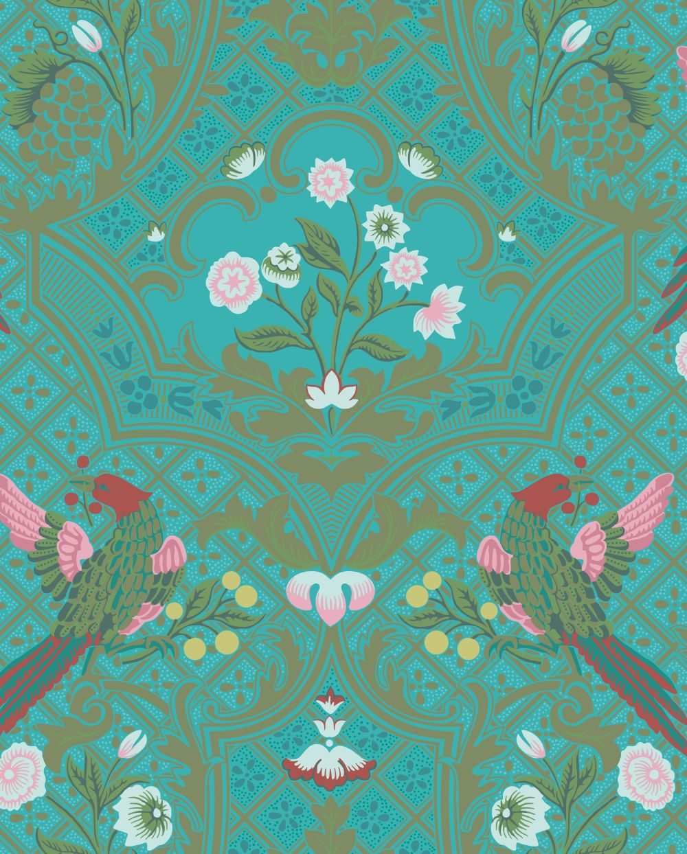 Little Greene Brodsworth Empress Wallpaper - Product code: 0256BREMPRE
