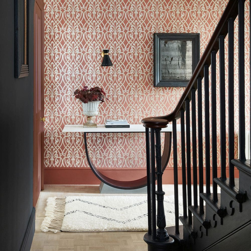 Little Greene Brook Street Etruscan Wallpaper - Product code: 0256BKETRUS