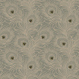 Little Greene Carlton House Terrace Slate Wallpaper - Product code: 0256CTSLATE