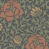 Little Greene Lansdowne Walk Ash Wallpaper - Product code: 0256LWASHZZ