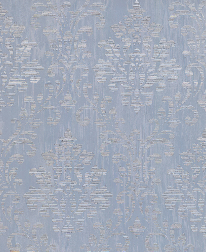 Albany Charice Damask Blue Wallpaper - Product code: 702005