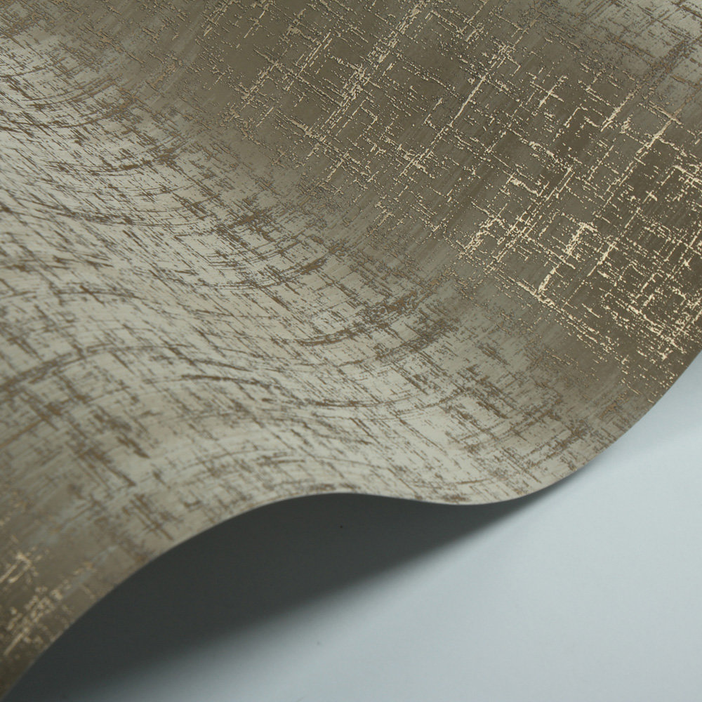 Charice Cross Hatch Wallpaper - Gold - by Albany