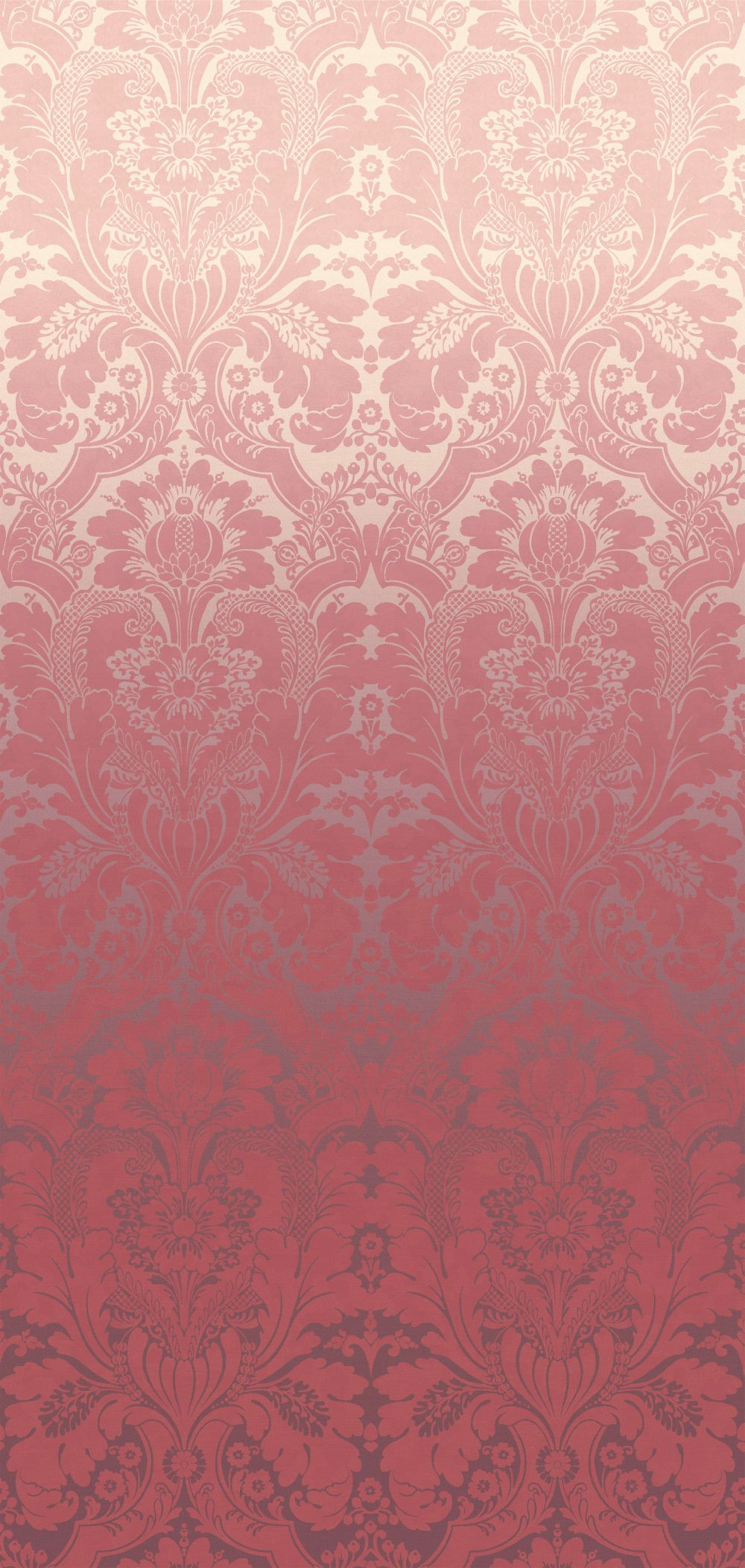 St James's Park Mural - Cherry Fade - by Little Greene