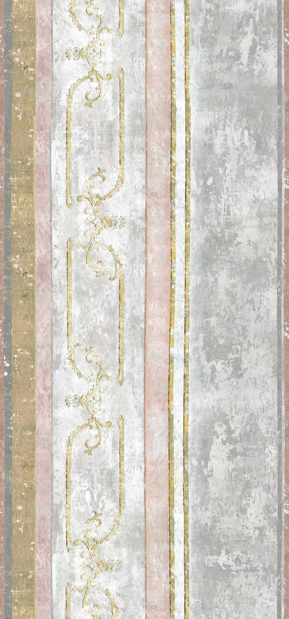 Foscari Fresco Scene 1 Mural - Tuberose - by Designers Guild