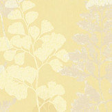 Albany Bramble Yellow Wallpaper