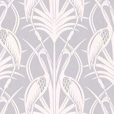 The Chateau by Angel Strawbridge Heron  Grey Wallpaper - Product code: CHWP1B