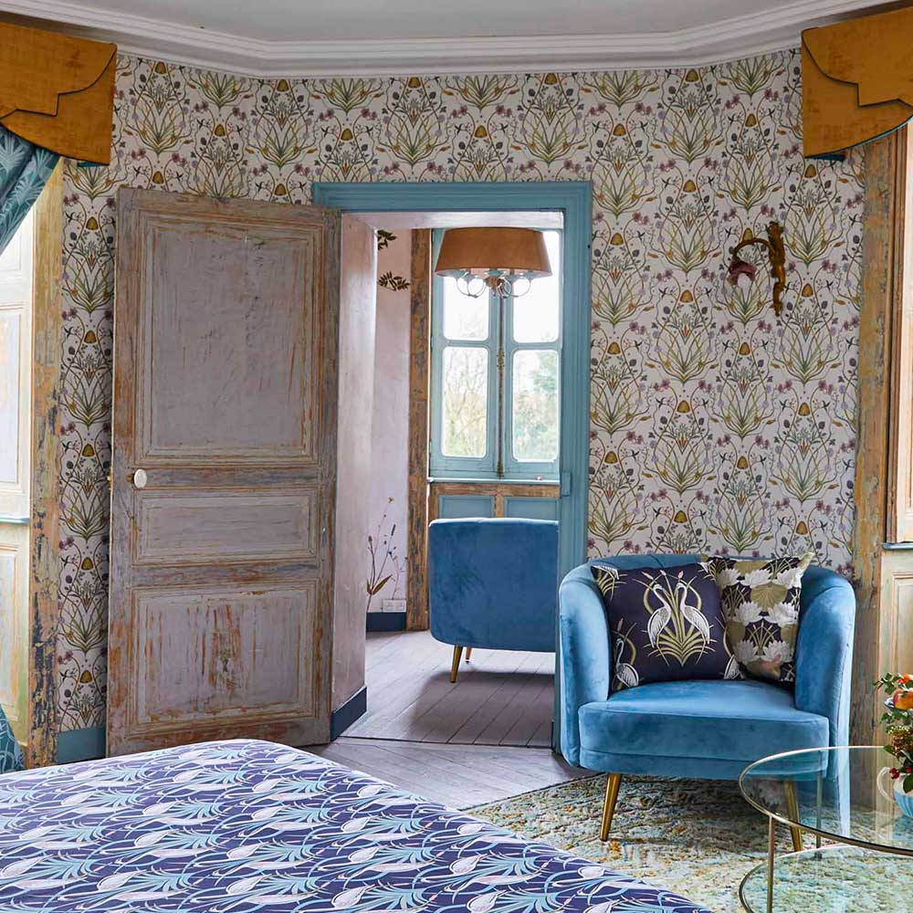 Potagerie Wallpaper - Multi-coloured - by The Chateau by Angel Strawbridge