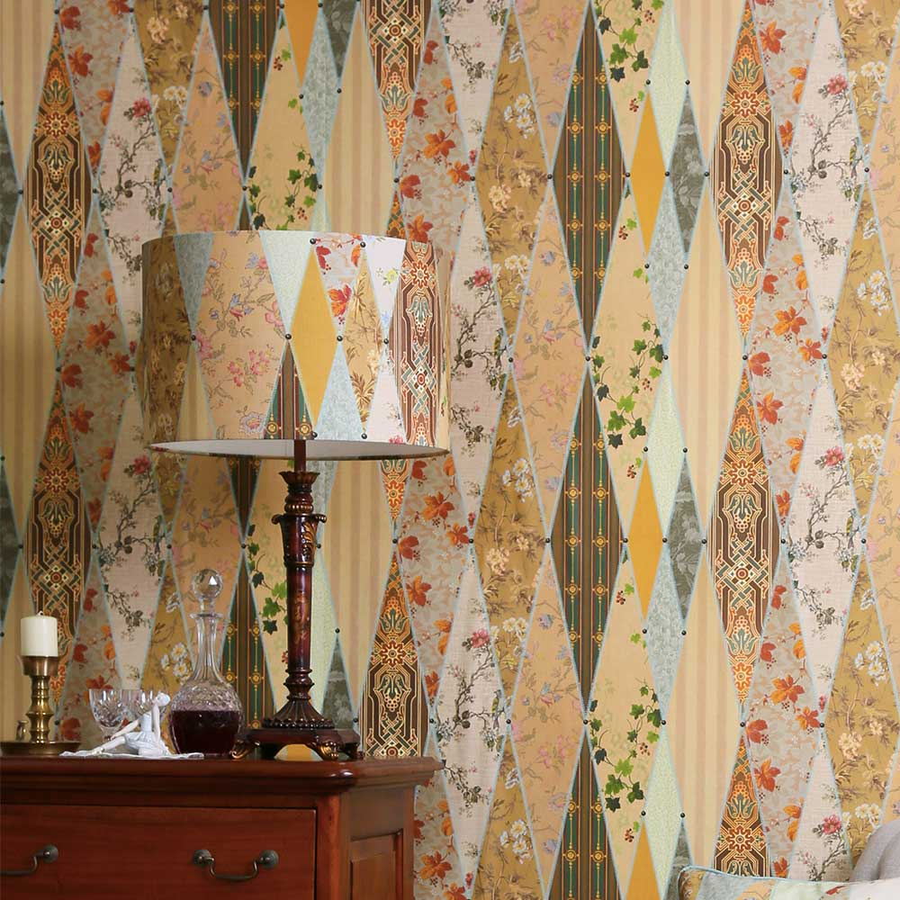 The Chateau by Angel Strawbridge Museum Multi-coloured Wallpaper - Product code: CHWP2A