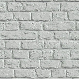 Metropolitan Stories Brick Wall Silver Grey Wallpaper - Product code: 36912-4