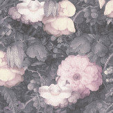 Metropolitan Stories Dutch Floral Pink / Grey Wallpaper - Product code: 36921-2