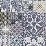 Metropolitan Stories Dutch Tile Blue Wallpaper - Product code: 36923-2