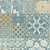 Metropolitan Stories Dutch Tile Light Blue Wallpaper - Product code: 36923-3