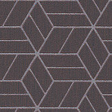 Metropolitan Stories Geo Hexagon Chocolate Wallpaper - Product code: 36920-1