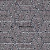 Metropolitan Stories Geo Hexagon Grey Wallpaper