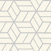 Metropolitan Stories Geo Hexagon White Wallpaper - Product code: 36920-3