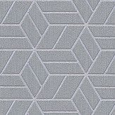 Metropolitan Stories Geo Hexagon Silver Grey Wallpaper - Product code: 36920-4