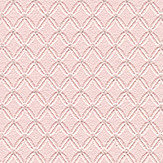 Metropolitan Stories Lace Diamond Pink Wallpaper