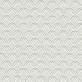 Metropolitan Stories Lace Diamond Silver Grey Wallpaper
