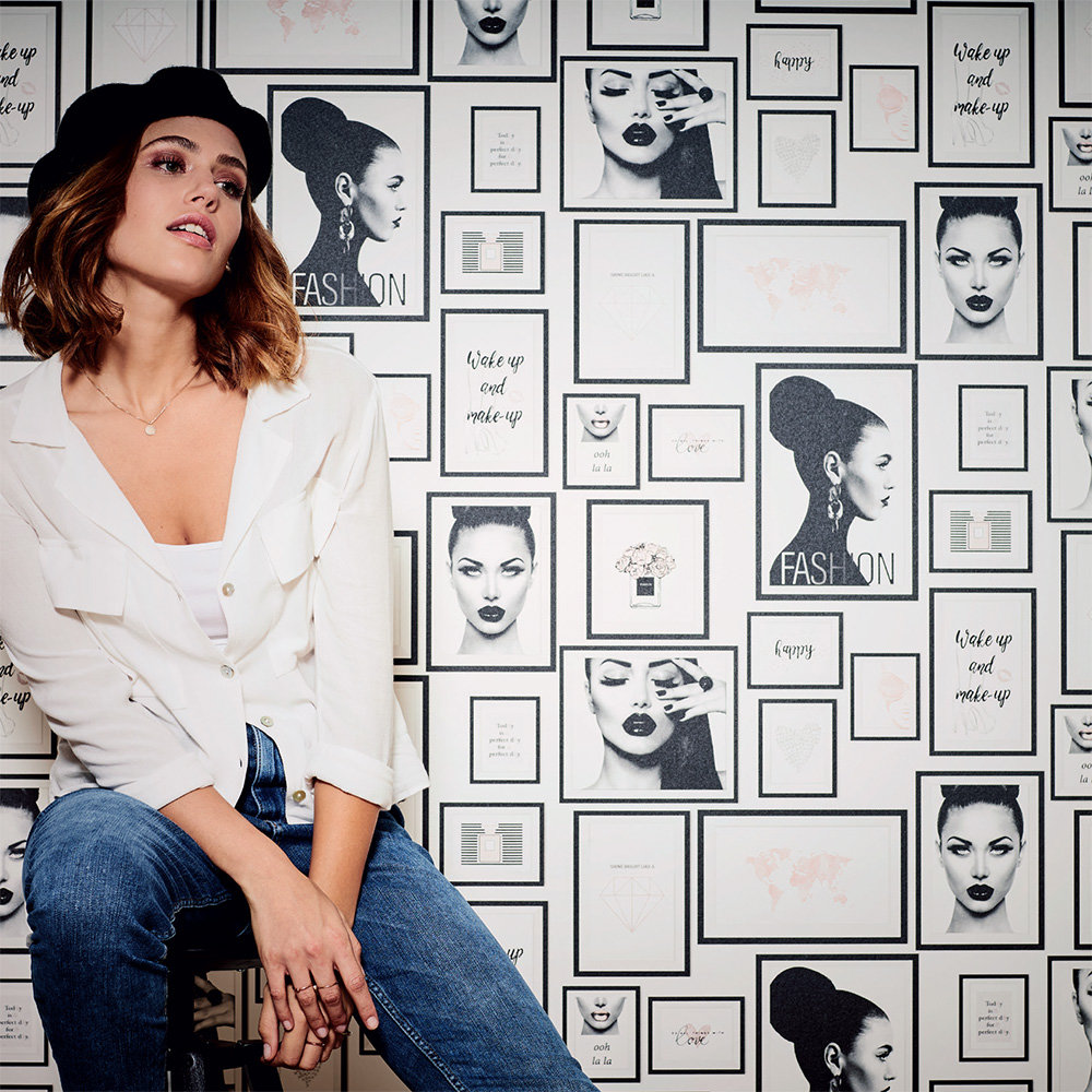 Metropolitan Stories Fashion Black / White Wallpaper - Product code: 36918-1