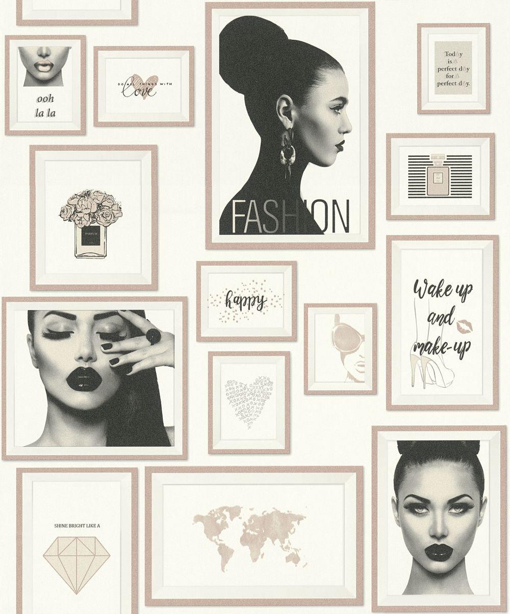 Metropolitan Stories Fashion Pink Wallpaper - Product code: 36918-3