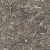Metropolitan Stories Jungle Leaf Grey Wallpaper - Product code: 36927-1