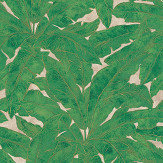 Metropolitan Stories Jungle Leaf Emerald Wallpaper - Product code: 36927-3
