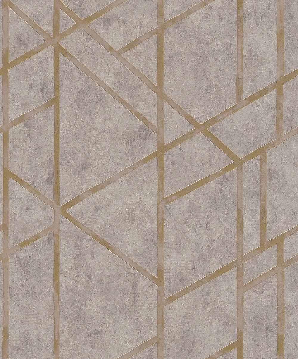 Metropolitan Stories Geometric Grey Wallpaper - Product code: 36928-3