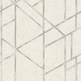 Metropolitan Stories Geometric White Wallpaper - Product code: 36928-5