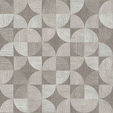 Metropolitan Stories Wood Geo Grey Wallpaper - Product code: 36913-3