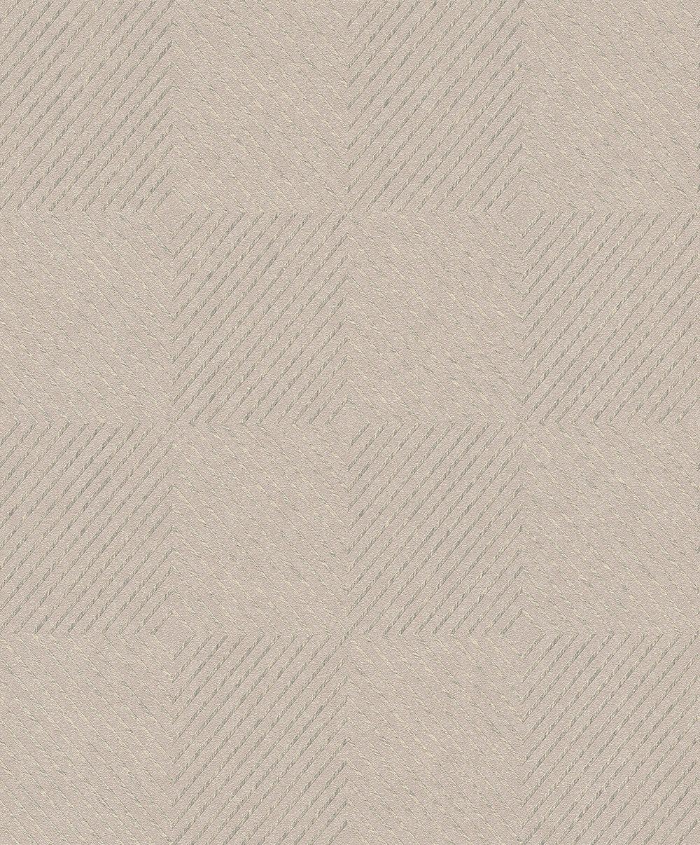 Metropolitan Stories Geometric Taupe Wallpaper - Product code: 36926-2