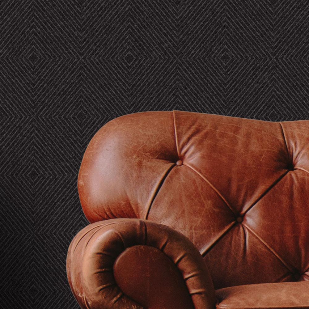 Metropolitan Stories Geometric Black Wallpaper - Product code: 36926-5